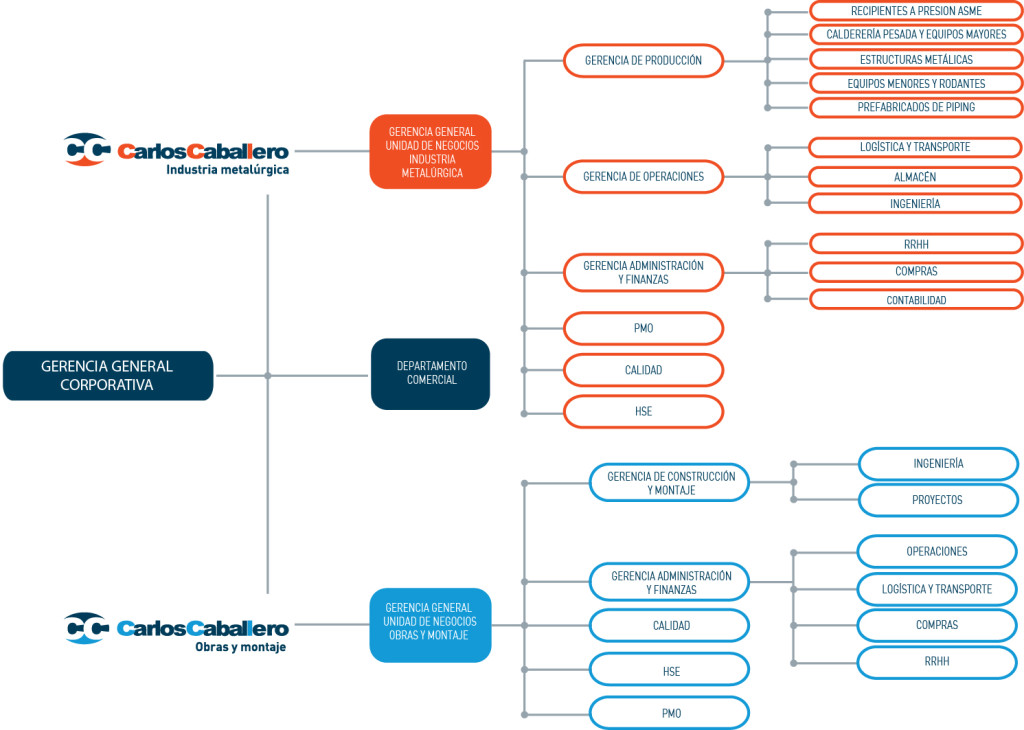 Estructura CC SRL General