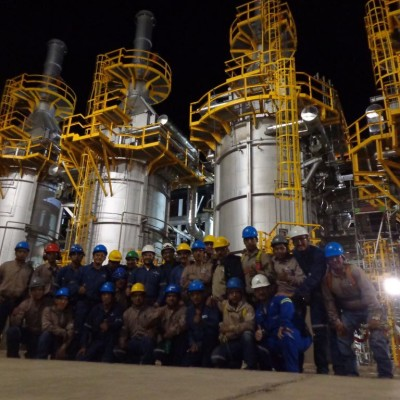 EPC HORNOS UNIDAD DE PLATFORMING A-302 RSCZ