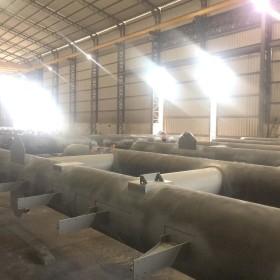 "Fabricación columnas principales de 32"" diámetro"